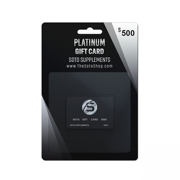PLATINUM GIFT CARD $500